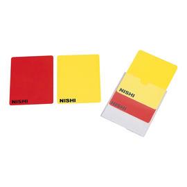 審判長用警告カード(2枚組)