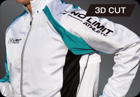 3Dマルチブレーカージャケット/パンツ:アシンメトリーデザイン_3